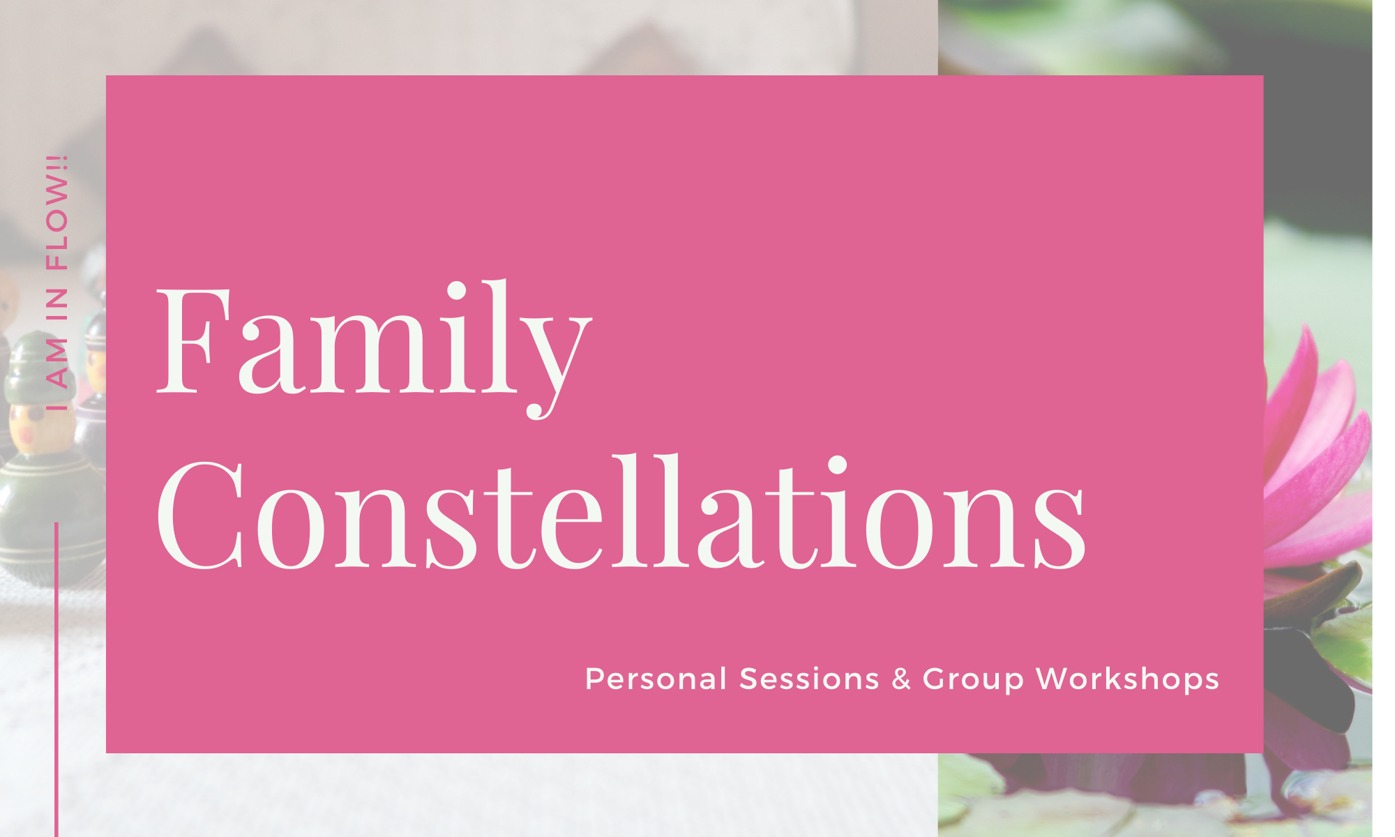 Personal Sessions & Group Workshops